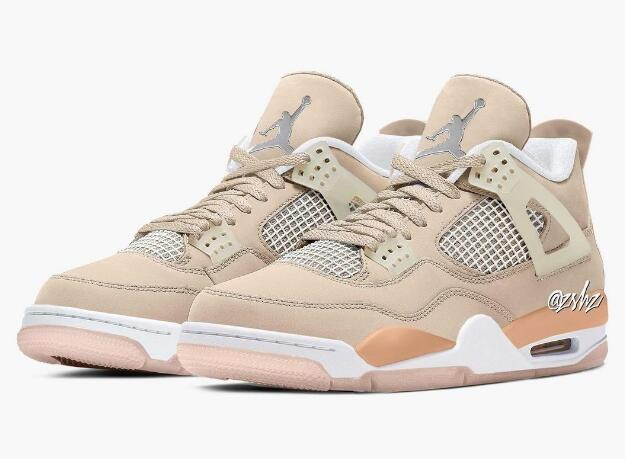 New Released Air Jordan 4 WMNS Shimmer is Available Now