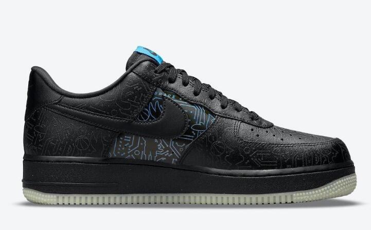 Best Outfit Space Jam x Nike Air Force 1 Low Computer Chip Releasing Soon