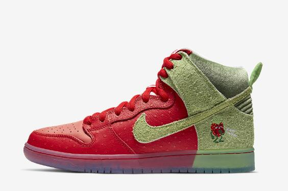 Brand New Nike SB Dunk High Strawberry Cough CW7093 600 Coming for Summer