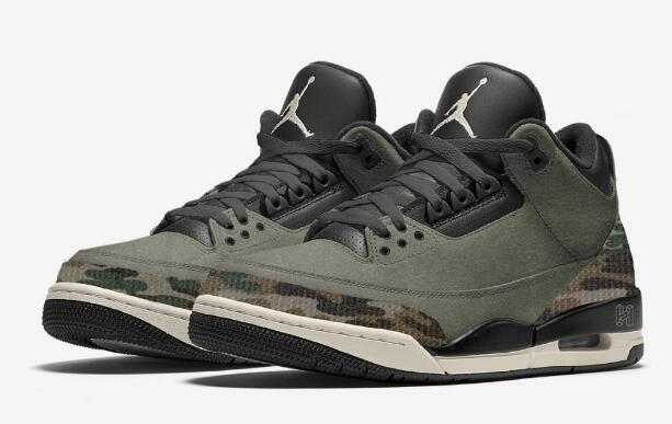 Cool Air Jordan 3 Camo Will Release for Holiday 2021