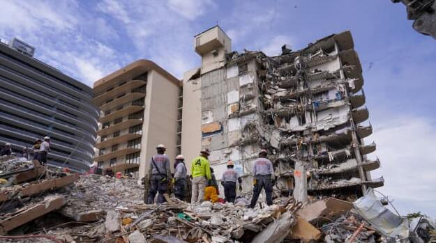 Demolition of collapsed Florida condo tower begins Sunday night, search to resume immediately after