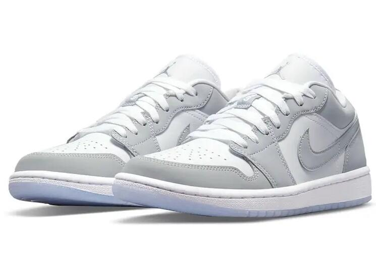 Fans Can Get the Coupons to buy Air Jordan 1 Low White Wolf Grey