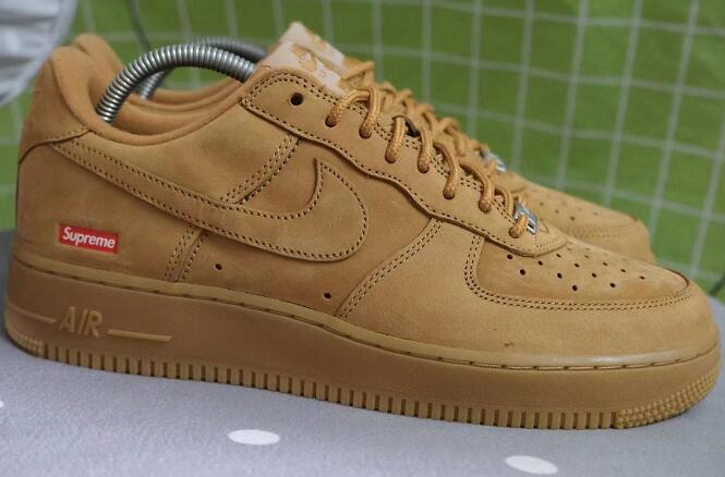 Have You Got the Supreme x Nike Air Force 1 Flax