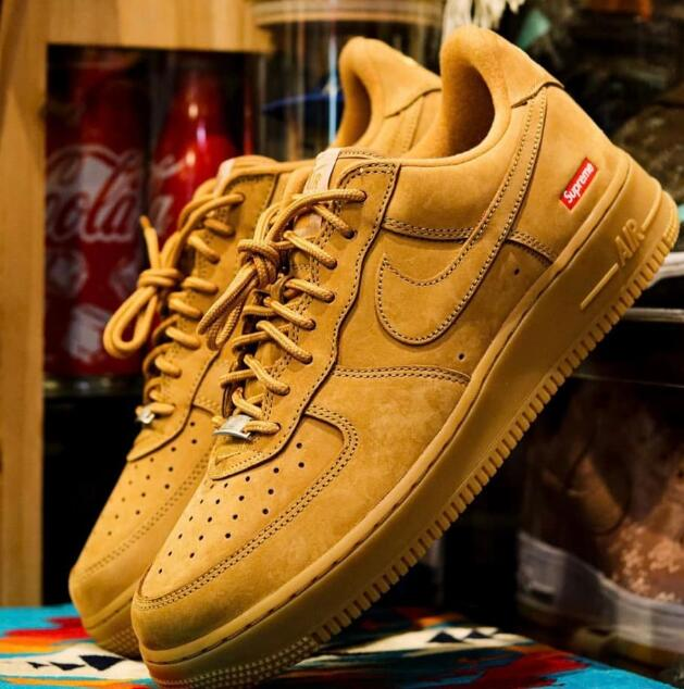 Hot Supreme x Nike Air Force 1 Low Flax Coming for Summer