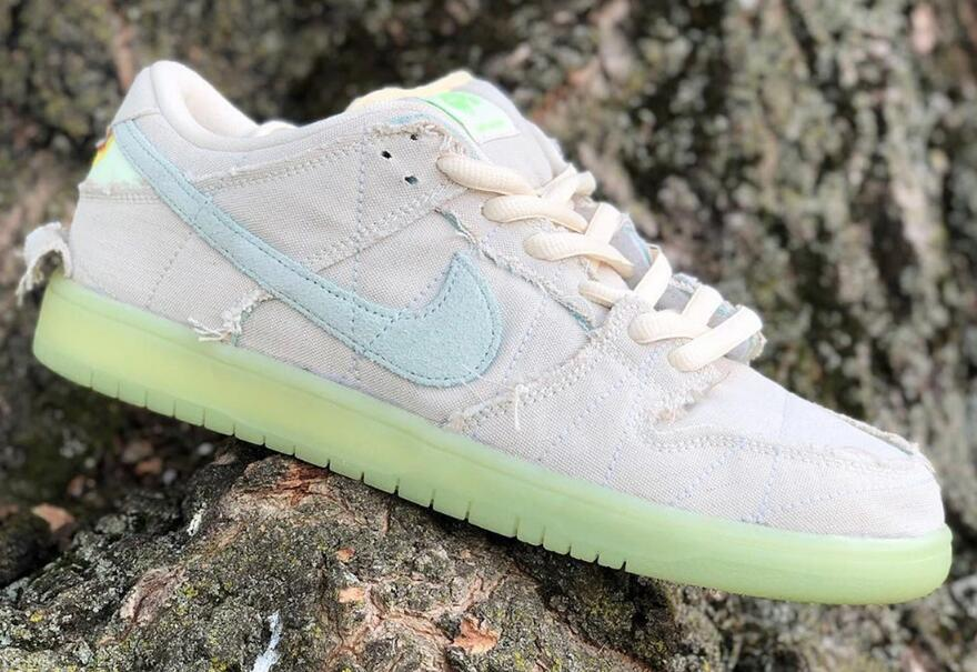 Lastly Nike SB Dunk Low Mummy Unveils for Halloween 2021