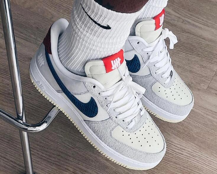 New One Pair Undefeated x Nike Air Force 1 Low Drop this Week