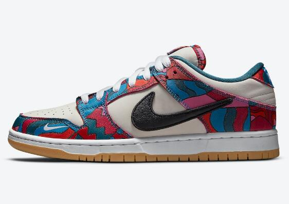 New Release DH7695-102 Parra x Nike SB Dunk Low Ready for Summer