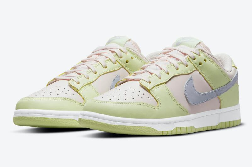 Stylish Nike Dunk Low Light Soft Powder Gonna Debut on Releases July 31st