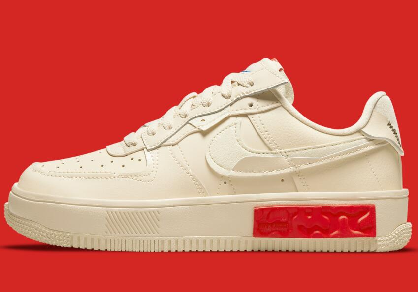 The Upcoming Nike Air Force 1 Fontanka Coverd by Pearl White