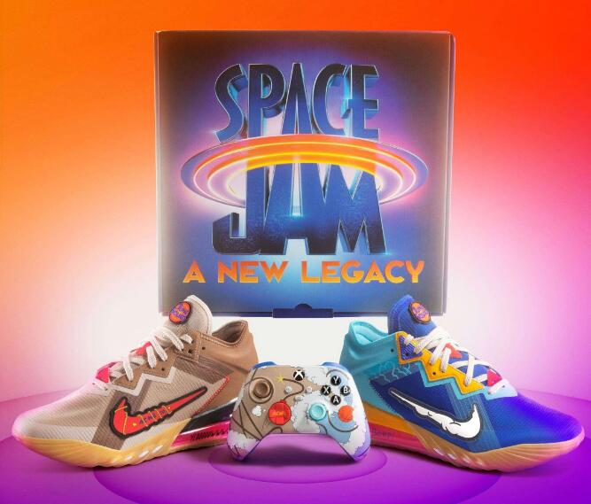 WOW !!! Space Jam Xbox LeBron 18 Low Releasing Soon