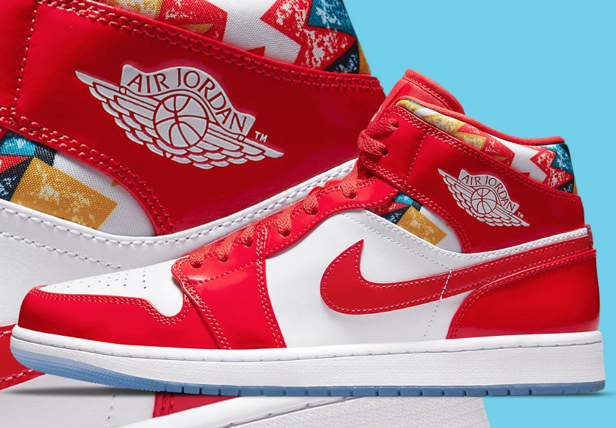Latest Air Jordan 1 Mid Releasing With MJ's Barcelona Sweater
