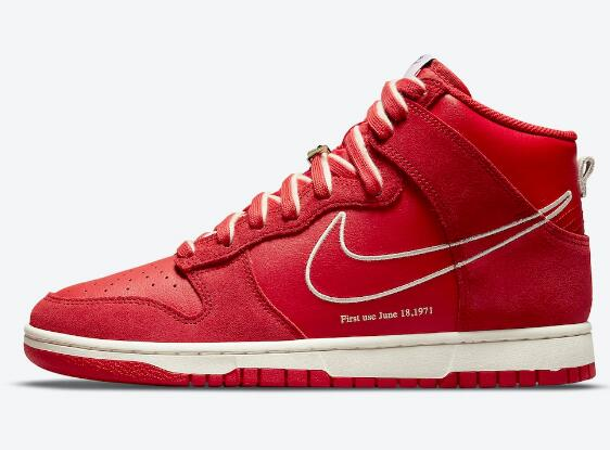 DH0960-600 Nike Dunk High First Use University Red for Big Discount