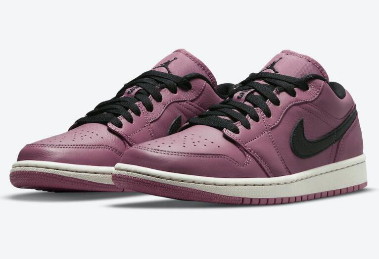 Newest Air Jordan 1 Low Got Covered by Magenta and Black