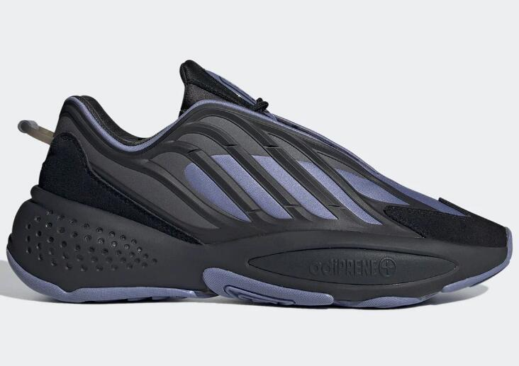 Latest adidas Ozrah is Releasing A Futuristic Carbon And Core Black Pairing