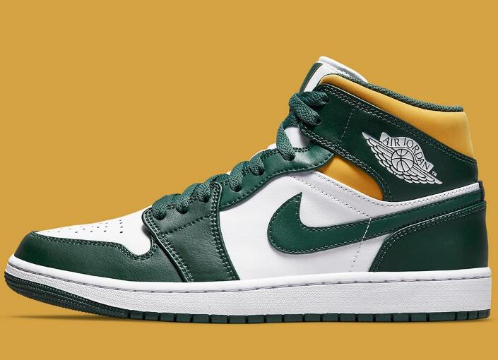 Adult Sizes Brazil Inspired Air Jordan 1 Mid Coming on the Way