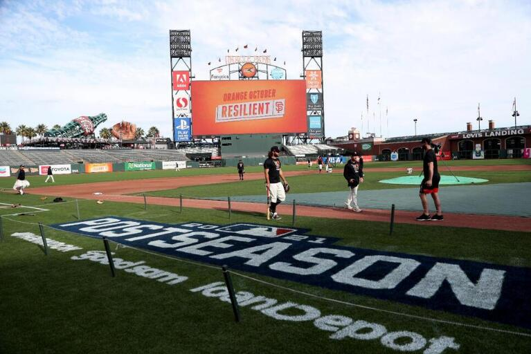 Giants-Dodgers Cap 4-Game Division Series Slate