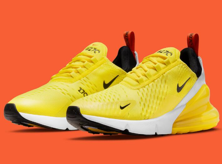 Latest Nike Air Max 270 Dress Up With Vibrant Yellow