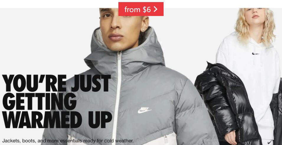 Nike's new cold weather collection debuts jackets, boots, more from $6