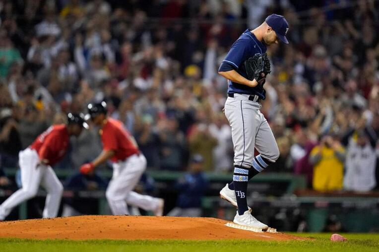 Rays' Remarkable Season Comes to Sudden End at Fenway Park