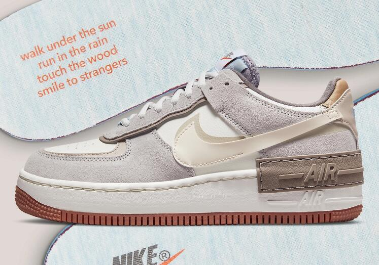 This Woodsy Air Force 1 Shadow Coming With Poetic Message